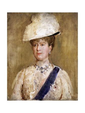 Queen Mary Giclee Print by Solomon Joseph Solomon