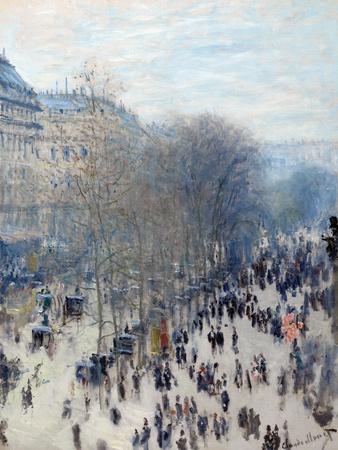 Boulevard Des Capucines Gicléetryck av Claude Monet