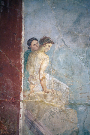 Italy, Naples, Naples Museum, from Pompeii, Prince of Montenegro House, Perseus freeing Andromeda Photographic Print by Samuel Magal