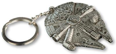 Star Wars Millennium Falcon Replica Key Chain Keychain