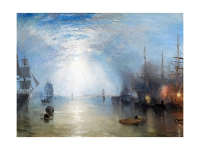 Keelmen Heaving in Coals Gicléetryck av J. M. W. Turner