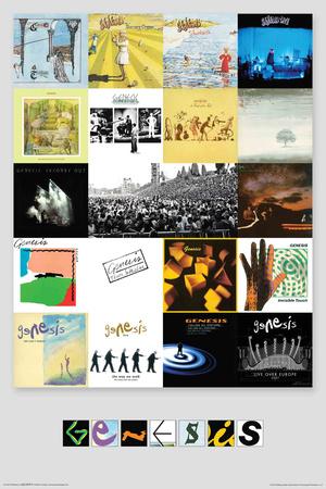 Genesis- Albums Prints