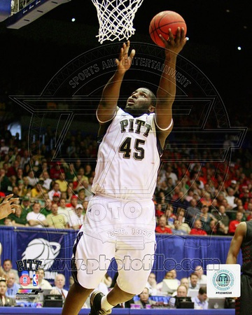 DeJuan Blair University of Pittsburgh Panthers 2009 Action Photo