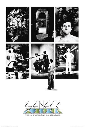 Genesis- Lamb Lies Down Posters