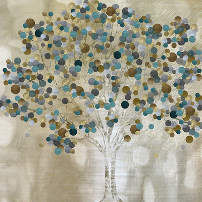 A Teal Tree Posters by Katrina Craven