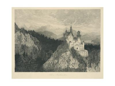 Schloss Neuschwanstein Giclee Print