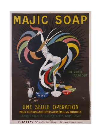 Majic Soap - Une Seule Operation Poster Giclee Print