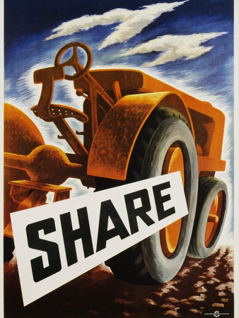 Share Poster Photographic Print