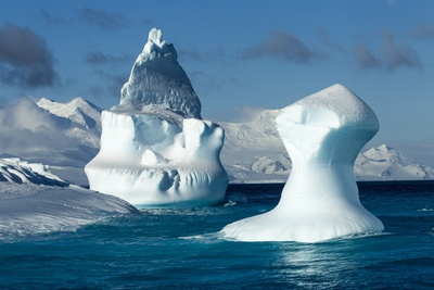 Iceberg, South Shetland Islands, Antarctica Photographic Print by Paul Souders