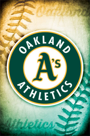 Oakland Athletics Logo Posters