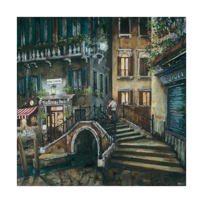 Trattoria Al Ponte, Venice Giclee Print by Melissa Sturgeon