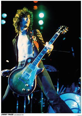 Jimmy Page - Led Zeppelin Kunstdrucke