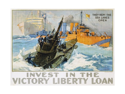 Invest in the Victory Liberty Loan Poster Stampa giclée di L.a. Shafer