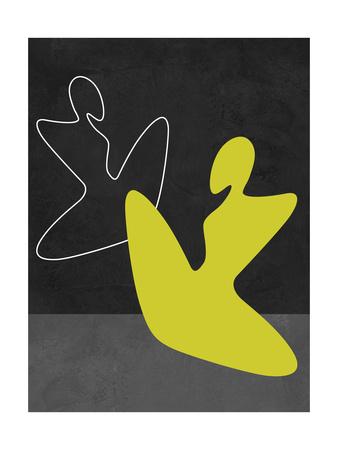 Yellow Girl Poster by Felix Podgurski
