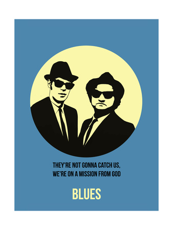 Blues Poster 2 Posters by Anna Malkin