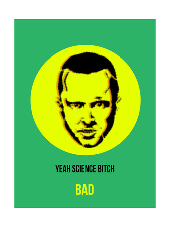 Yeah Science Poster 2 Print by Anna Malkin