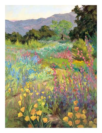 Spring Days Poster by Ellie Freudenstein