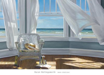 Gentle Reader Poster von Karen Hollingsworth