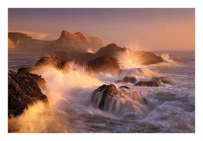 Ocean's Fury Print by Marc Adamus