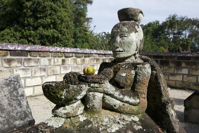 Stone Tomb of Anting Malela Boru Sinaga Photographic Print by Annie Owen