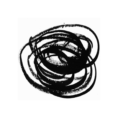 Black and White Collection N° 09, 2012 Serigraph by Allan Stevens
