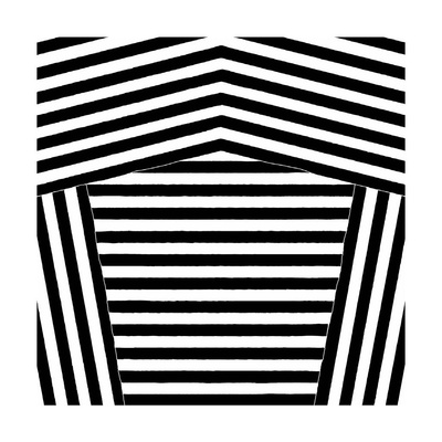 Black and White Collection N° 75, 2012 Serigraph by Allan Stevens