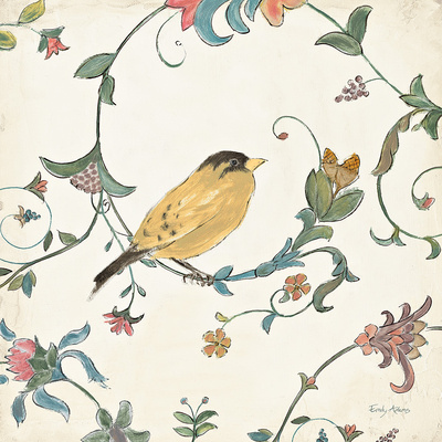 Birds Gem III Posters by Emily Adams