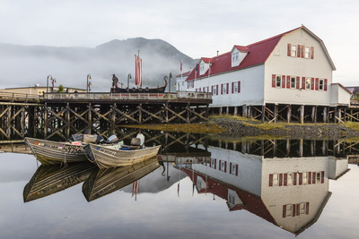 The Norwegian Fishing Town of Petersburg, Southeast Alaska, United States of America, North America Photographic Print by Michael Nolan