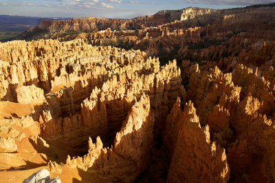 View over Bryce Canyon National Park at Sunset, Utah, United States of America, North America Photographic Print by Olivier Goujon