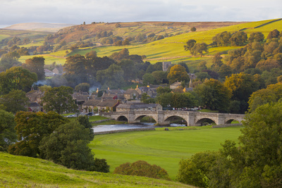 Burnsall, Yorkshire Dales National Park, Yorkshire, England, United Kingdom, Europe Photographic Print by Miles Ertman