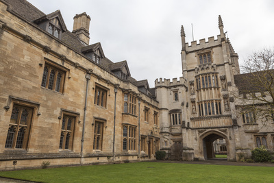 St. John's Quad, Magdalen College, Oxford, Oxfordshire, England, United Kingdom, Europe Photographic Print by Charlie Harding