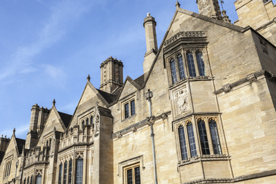Student Accommodation in Magdalen College, Oxford, Oxfordshire, England, United Kingdom, Europe Photographic Print by Charlie Harding