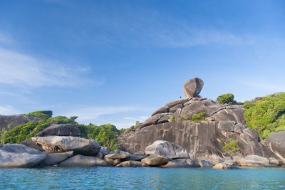 Rock Formations of Ko Similan Beach, Phuket Island, Phuket, Thailand, Southeast Asia, Asia Photographic Print by Andrew Stewart