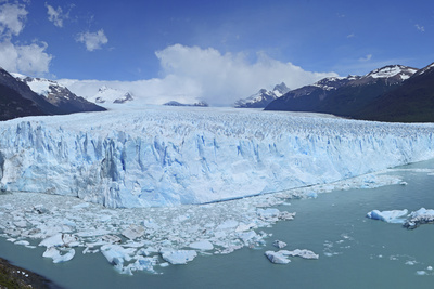 Perito Moreno Glacier, Panoramic View, Argentina, South America, January 2010 Photographic Print by Mark Taylor