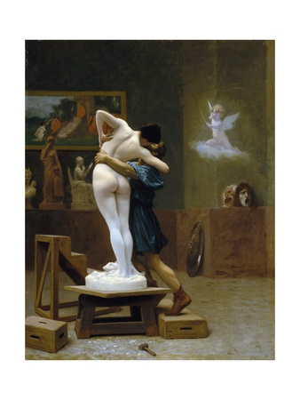 Pygmalion and Galatea Giclee Print by Jean Leon Gerome