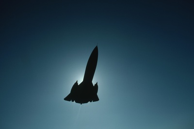 SR-71 in Flight Photographic Print by Roger Ressmeyer
