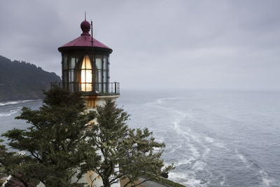 Heceta Head Lighthouse, Oregon Photographic Print by Paul Souders