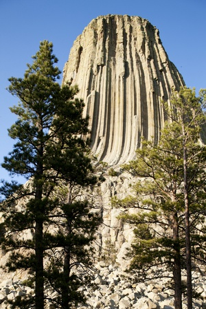 Devils Tower National Monument in Wyoming Photographic Print by Paul Souders