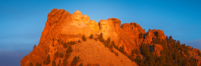 Low Angle View of a Monument, Mt Rushmore National Monument, Rapid City, South Dakota, USA Photographic Print