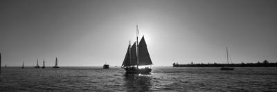 Sailboat, Key West, Florida, USA Photographic Print