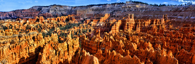 Hoodoo Rock Formations in Bryce Canyon National Park, Utah, USA Photographic Print