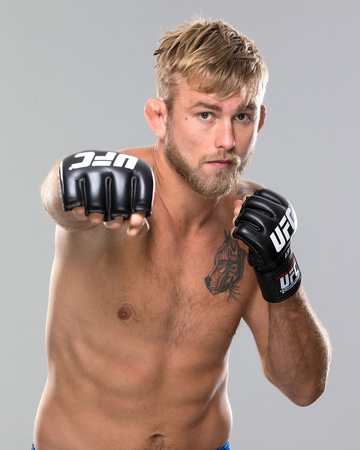 UFC Fighter Portraits: Alexander Gustafsson Photo by Josh Hedges