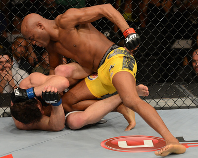 UFC 148: Jul 7, 2012 - Anderson Silva vs Chael Sonnen Photo by Donald Miralle