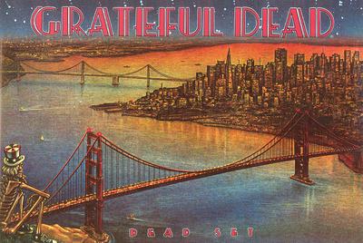 Grateful Dead - Dead Set Print