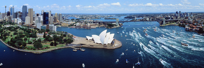 Australia, Sydney, Aerial Photographic Print