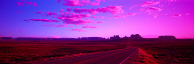 Road Monument Valley Ut USA Photographic Print