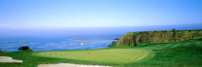 Pebble Beach Golf Course, Pebble Beach, Monterey County, California, USA Photographic Print