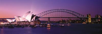 Opera House Harbour Bridge Sydney Australia Photographic Print