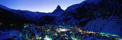 Matterhorn and Zermatt Switzerland Photographic Print