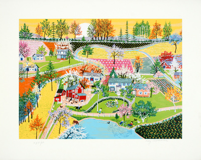 Spring in Gettysburg Limited Edition by Kay Ameche